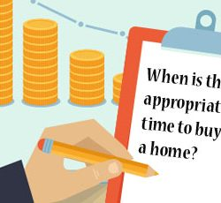 When is the appropriate time to buy a home