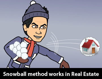 DC Fawcett Real Estate - snowball-method-works-in-Real-Estate