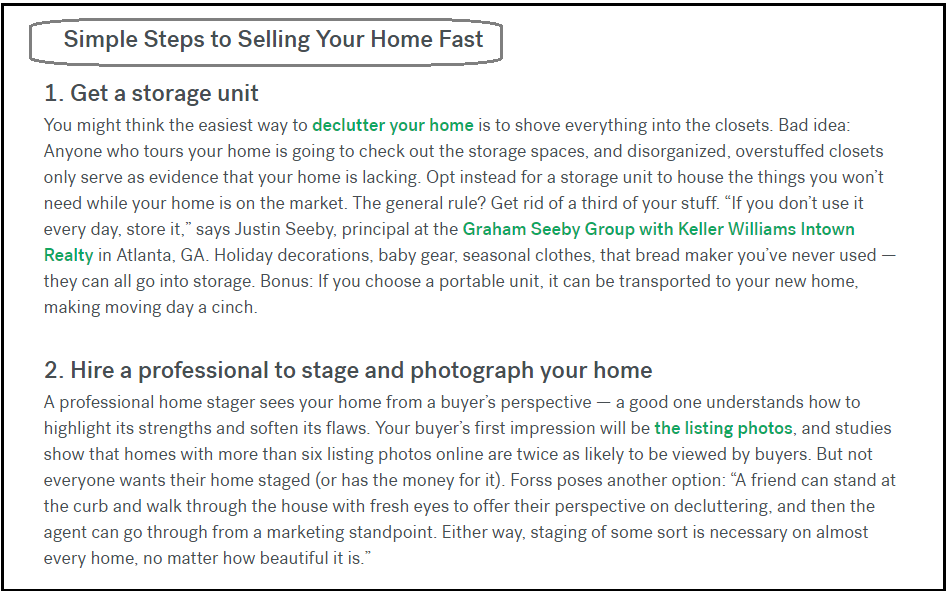 DC Fawcett Complaints Best Ways Of Selling The House